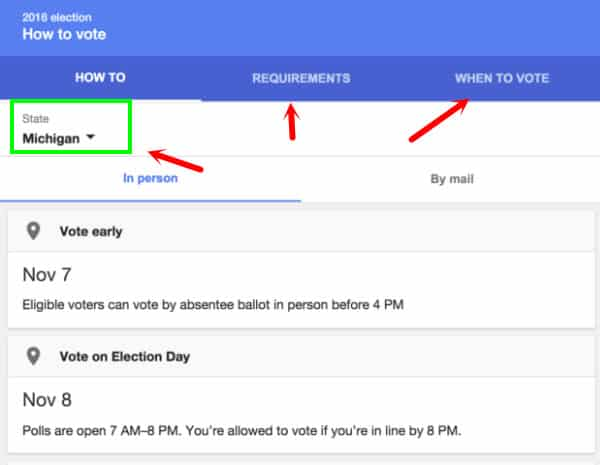 Google Voting Guides Rolled Out
